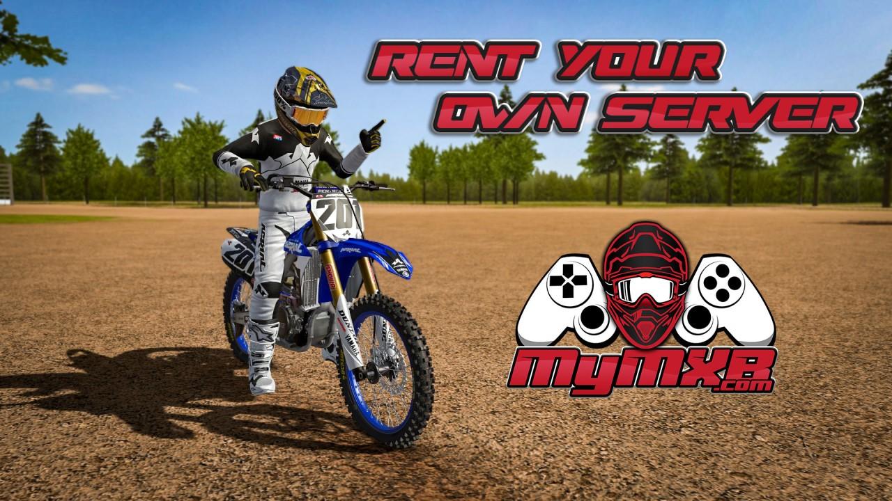 Rent your MX Bikes server on MyMXB.com !